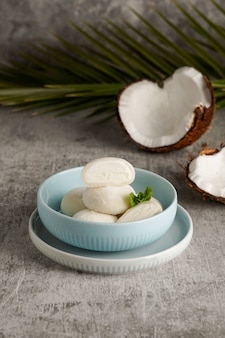 Gelato mochi al cocco