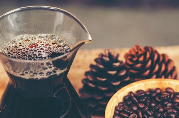 Priorità bassa di struttura della bolla di caffè