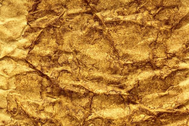 Texture di carta stropicciata caffè. sfondo astratto