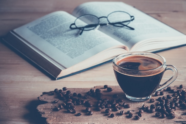 Caffè con fagioli
