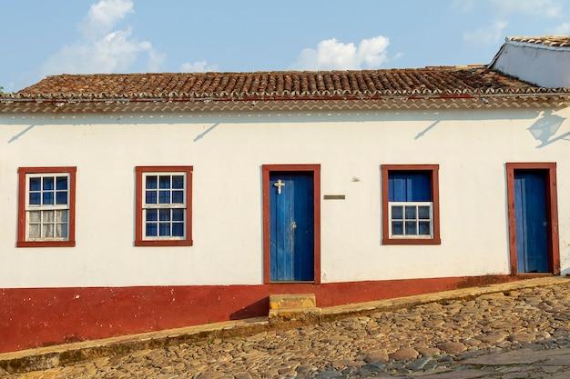 Case coloniali nella città di ouro preto