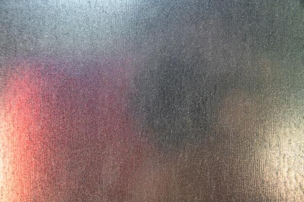 Sfondo colorato spazio copia in acciaio industriale