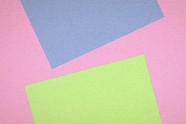 Struttura astratta colorata della scatola di carta di superficie per fondo