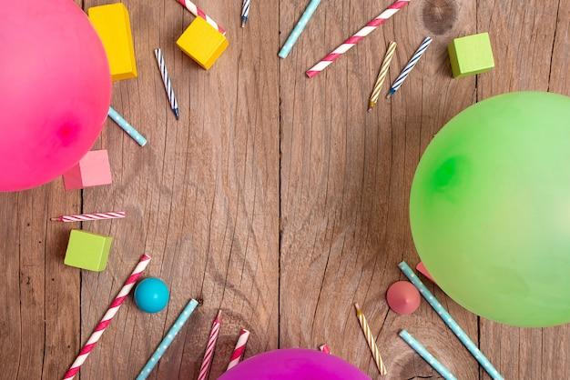 Disegni colorati per feste di compleanno idee brillanti per la pianificazione delle celebrazioni nuove decorazioni appariscenti candele di coriandoli a palloncino celebrare le esigenze del partito di design del festival festival