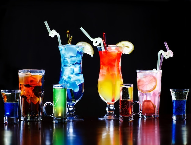 Cocktail colorati