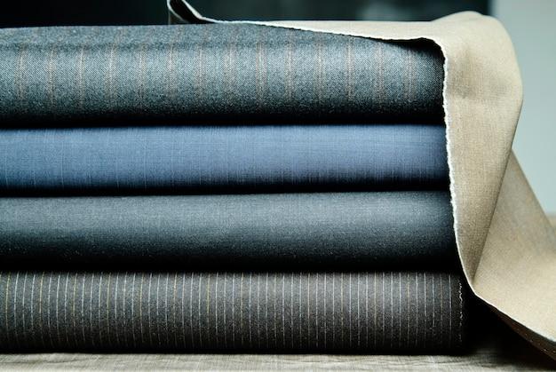 Tessuto di cotone colorato, tessuto fine