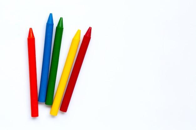 Pastello colorato. copia spazio