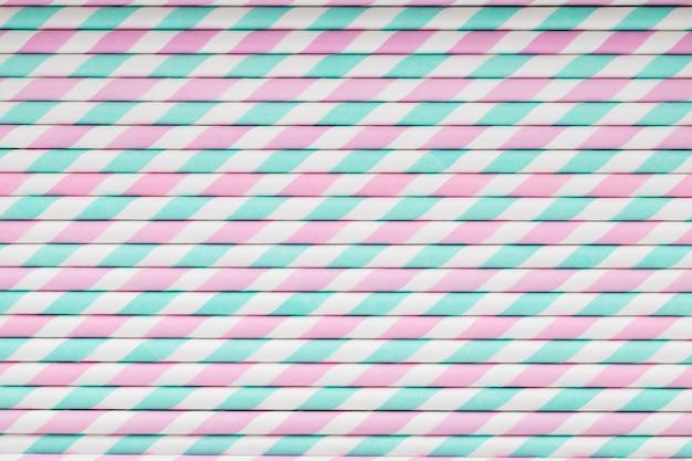 Cannucce colorate per frullato.