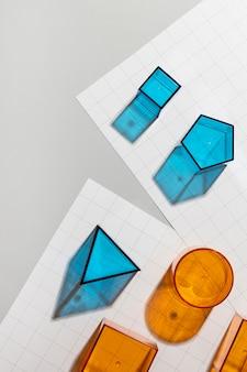 Forme geometriche colorate