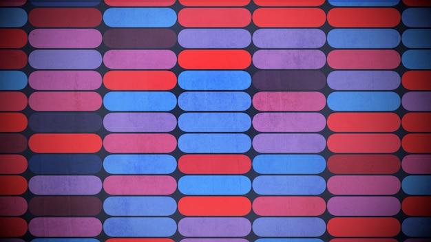 Modello di forma geometrica colorata, sfondo astratto. illustrazione 3d in stile geometrico elegante e di lusso