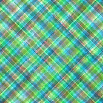 Fondo senza cuciture geometrico astratto diagonale del plaid del tartan del percalle variopinto di lerciume di lerciume