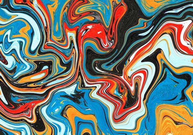 Modello in marmo colorato, sfondo astratto. effetto marmorizzato morbido e sfocato. illustrazione di stile di lusso ed elegante