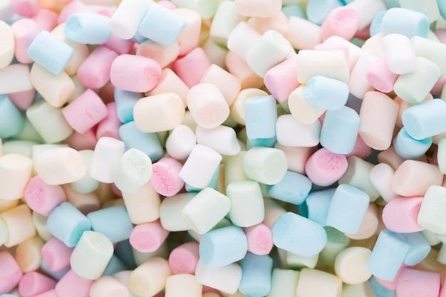 Mini marshmallow colorati
