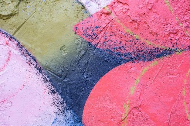 Sfondo colorato murale graffiti