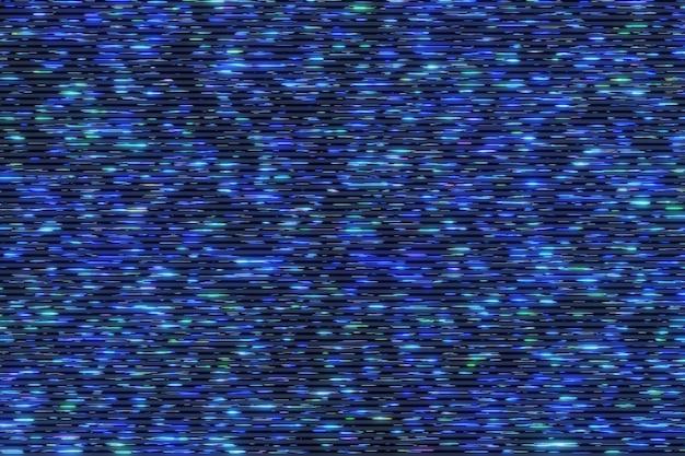 Flusso di matrice futuristica di luce al neon colorato flusso di comunicazione dati volante animazione tecnologica digitale rendering 3d