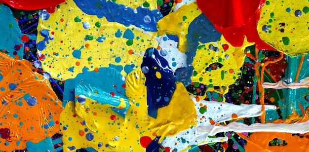 Trama di sfondo astratto colorato pittura ad olio.
