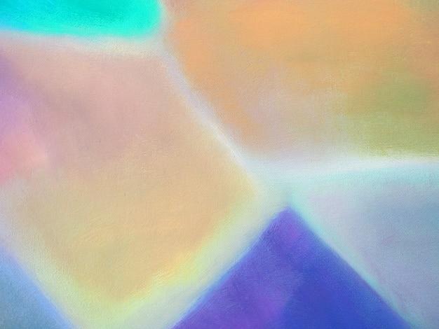 Fondo astratto colorato della pittura ad olio.