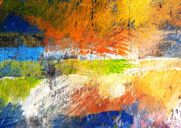Pittura colorata sfondo astratto con trama