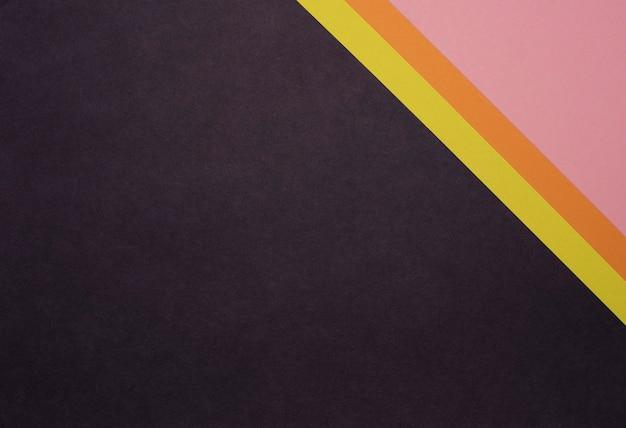 Strisce di sfondo con texture di carta colorata
