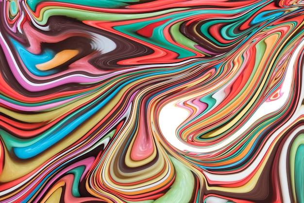 Fondo modellato variopinto di arte astratta, tono della caramella.