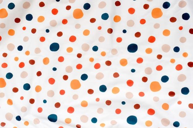 Panno stampato colorato