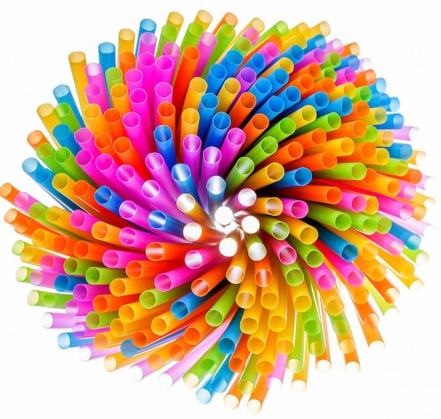 Paglia colorata