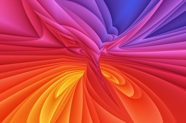 Sfondo di carta a spirale tornado colorato
