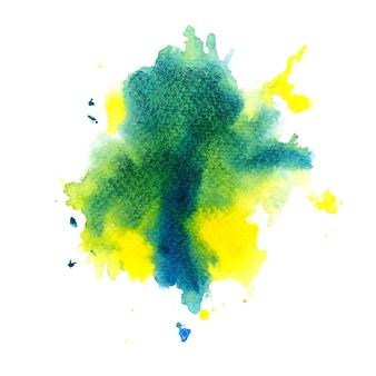 Pittura a mano di arte di sfondo colorato acquerello