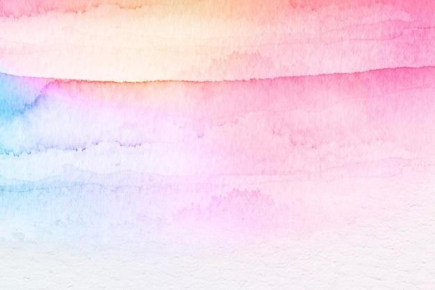 Priorità bassa strutturata dell'acquerello colorato
