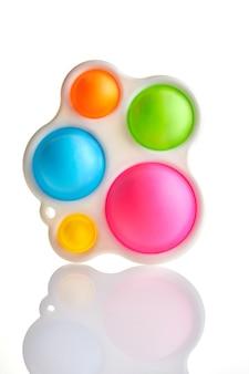 Colplay pop it, fidget toys, push pop bubble fidget giocattolo sensoriale autismo con esigenze speciali giocattolo antistress in silicone.