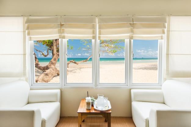 Confortevole e soggiorno in spiaggia tropicale