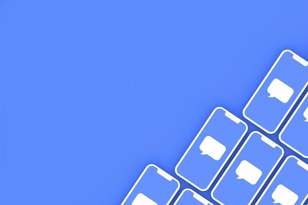 Commento rendering 3d di social media