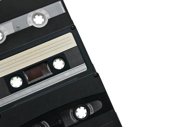 Cassetta audio compatta da utilizzare su registratori a nastro audio, lettori musicali e piastre a nastro.