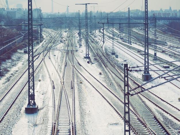 Sistema ferroviario urbano complicato entro l'inverno