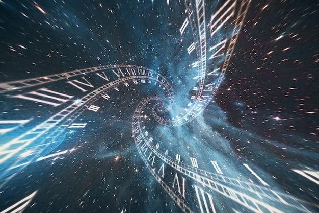 La composizione dello spazio del tempo