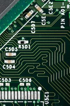 Circuito elettronico del calcolatore. utilizzare per lo sfondo o la trama