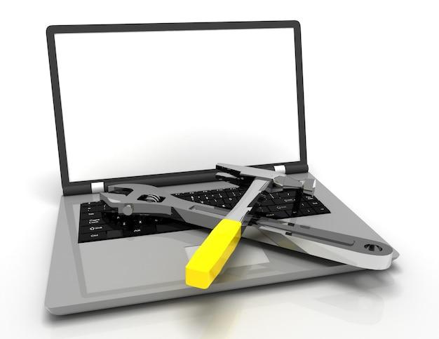 Concetto di servizio tecnico informatico