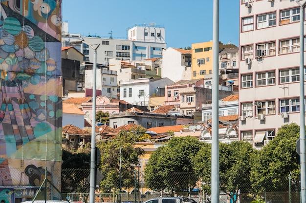 Collina conceicao nel centro di rio de janeiro, brasile.