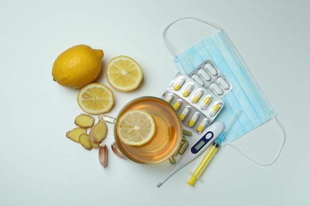 Concetto di trattamento a freddo alternativo