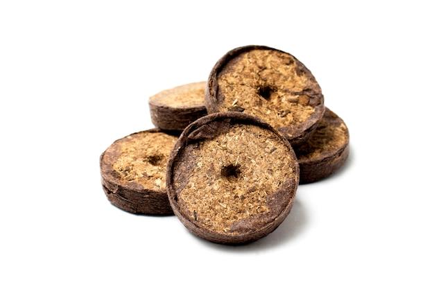 Il concetto di biofood rigonfio in ambienti eclologicamente puliti compresse di torba per la germinazione di semi e piantine il concetto di biofood rigonfio in ambienti eclologicamente puliti