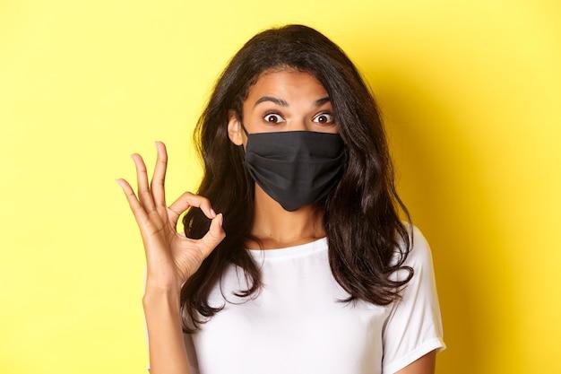 Concetto di coronavirus, pandemia e stile di vita.