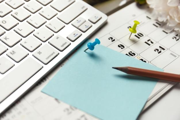 Il concetto di organizzazione eventi è occupato o pianificato.