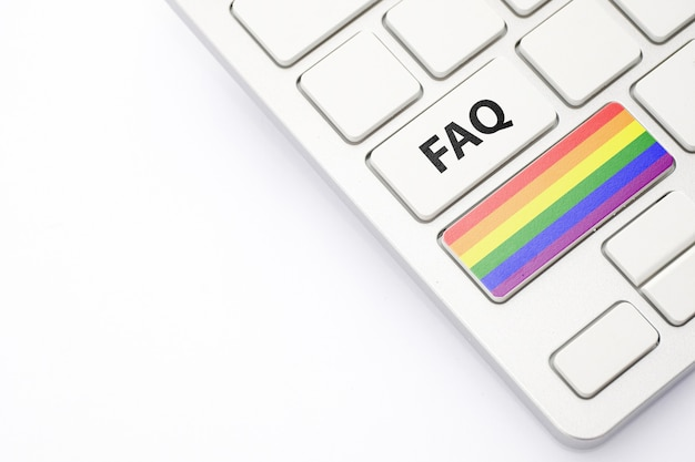 Il concetto faq della comunità lgbt