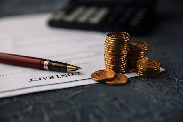 Il concetto di finanza e affari.