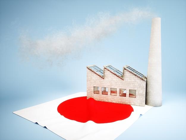 Concetto di sviluppo dell'industria giapponese