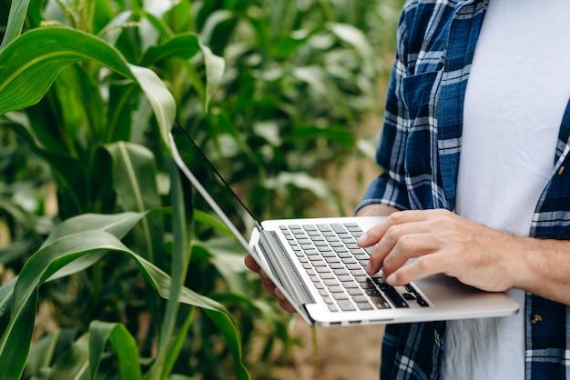 Il concetto di moderne tecnologie nell'agrobusiness
