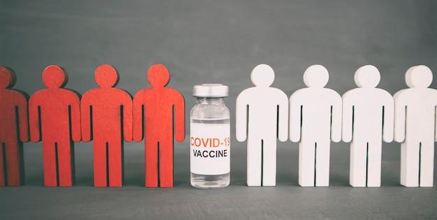 Il concetto di persone diventa protetto dopo la vaccinazione