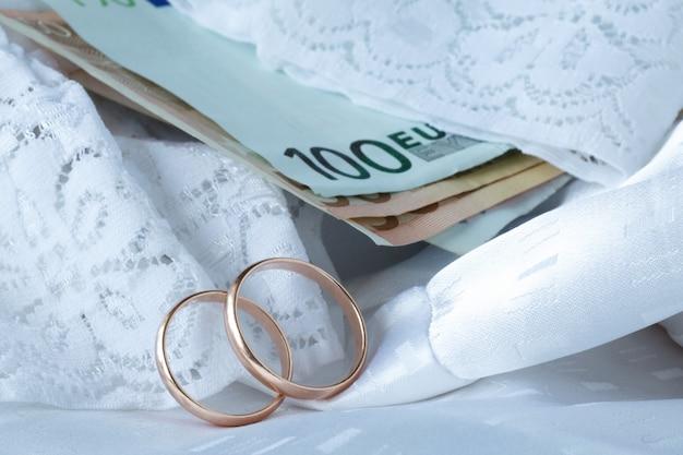 Concetto di costo del matrimonio