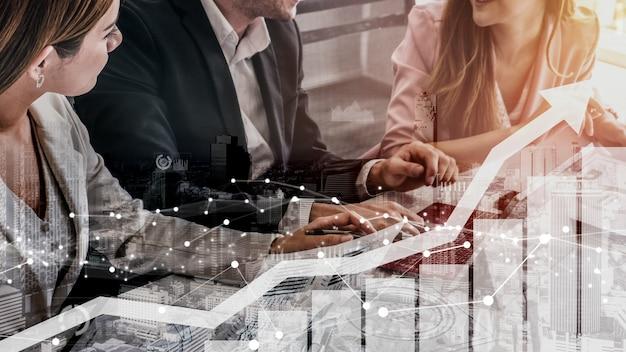 Cruscotto aziendale concettuale per l'analisi dei dati finanziari