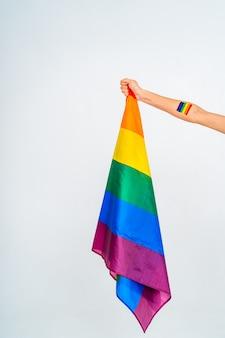 Supporto concettuale per gay, lesbiche, transgender e contro l'omofobia